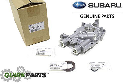 08-2015 Subaru Impreza WRX Sti 11mm 2.5L Oil Pump w/ Seals & Bolts Turbo OEM - Pump Turbo Seal Oil