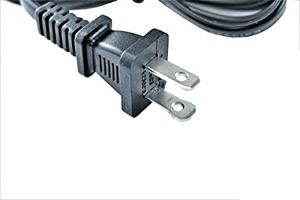Yustda AC Power Cord Compatible with Crenova XPE450 XPE460 XPE470 LED Upgraded Projector 1200 Lumens 800480 Resolution Home Cinema
