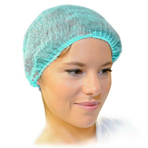 MIFFLIN Hairnets (Green, 200 Pack) for Hair Cover, Disposable Bouffant Hairnet Caps for Restaurant, Lab, Hair Net for Non Medical Use by MIFFLIN (Image #7)