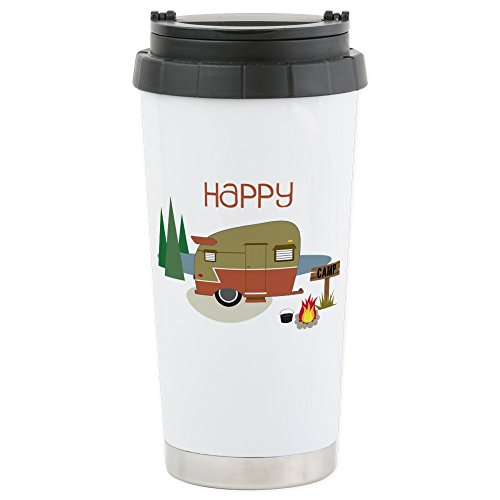 CafePress Camper Stainless Insulated Tumbler