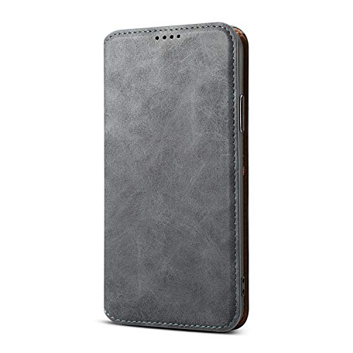 - Wallet Leather Case Cover for iPhone XR 6.1 Inch 2018 Apple,Slim Pure Black Soft Fold Money Card Holder Full Protection Kickstand Boy Men Shell