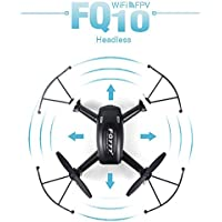 Two Years Drone Helicopter FQ777 FQ10 WiFi Drone with 720P Camera RTF 6-axis Gyro 2.4GHz RC Quadcopter