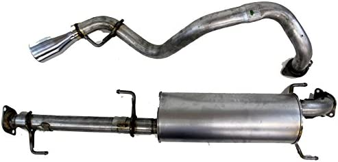 genuine toyota parts ptr31 35070 trd cat back exhaust system