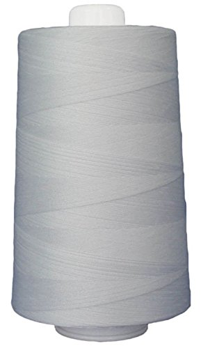 Superior Threads 13402-3001QC Omni 40W Polyester Thread, 6000 yd, Bright White