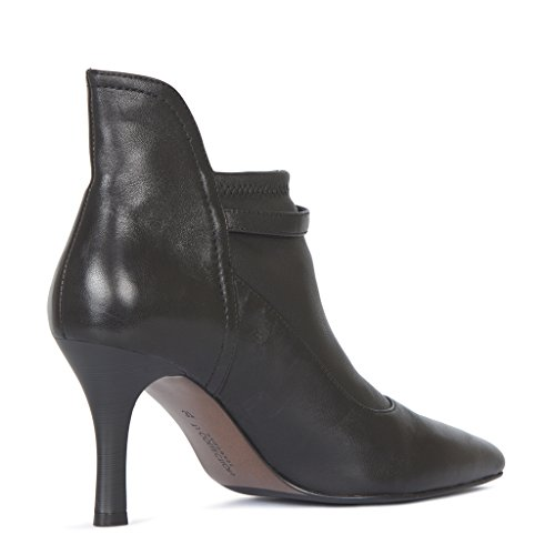 Leather Stiletto Women's Ankle Collection Boots TJ 7Ewqg1xZ1
