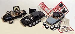 Plastic Models Lot 12 - Three Built UP Kits for Repair or Parts - '78 Pontiac Trans Am; Mercedes Benz 500SL Open; '87 Buick Grand National by Ahm