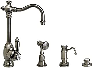 product image for Waterstone 4800-3-PB Annapolis Prep Faucet 3pc. Suite Polished Brass