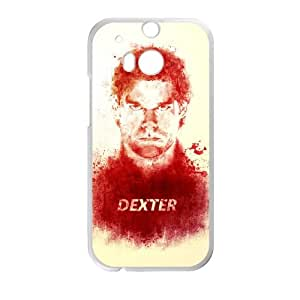Dexter Blood HTC One M8 Cell Phone Case White TPU Phone Case SY_760546