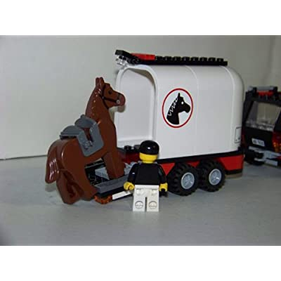 Lego City Limited Edition Set #7635 4WD With Horse Trailer: Toys & Games
