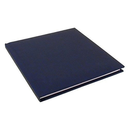 Goldbuch Poesiealbum, 96 weiße Seiten, 16,5 x 16,5 cm, Summertime, Dunkelblau, 41708