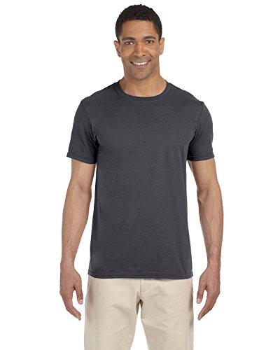 Gildan Men's Softstyle Ringspun T-shirt - X-Small - Charcoal ()