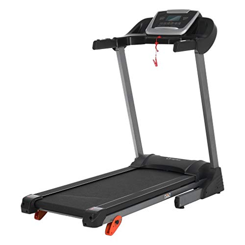 Banghotfire Foldable Electric Treadmill, Motorized Power Running Jogging Incline Machine for Home Gym, Cardio Training