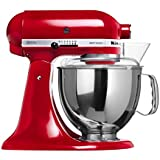 Batedeira Stand Mixer Artisan, KitchenAid, KEA33CV, Empire Red