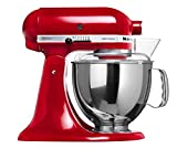 Batedeira Stand Mixer Artisan KitchenAid Empire Red 127V