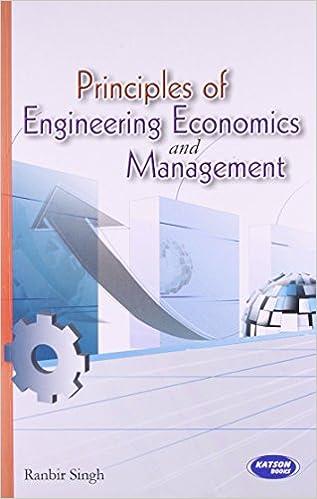 Book Principles of Engineering Economics & Management