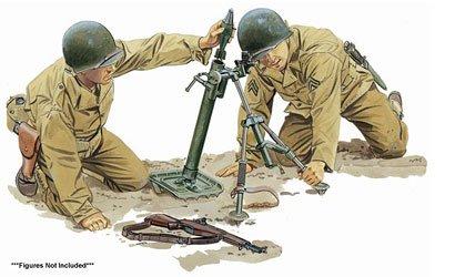 プラッツ 1/6 第二次世界大戦 アメリカ軍M2 60mm迫撃砲&M1ガーランド プラモデル CH75024 B003AMDM9G