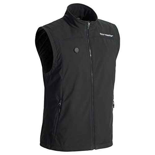 (Tour Master Synergy 7 4V Womens battery-heated Street Motorcycle Vest - Black/Small )