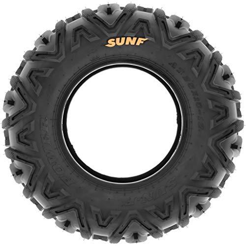 Set of 4 SunF Power.I AT 25x10-12 Front & 25x12-9 Rear ATV UTV all-terrain Tires, 6 PR, Tubeless A033 by SUNF (Image #8)