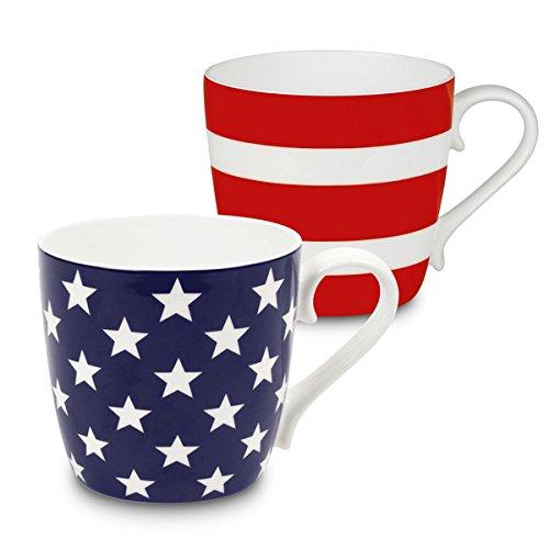 konitz-waechtersbach-bone-china-stars-and-stripes-mugs-set-of-2