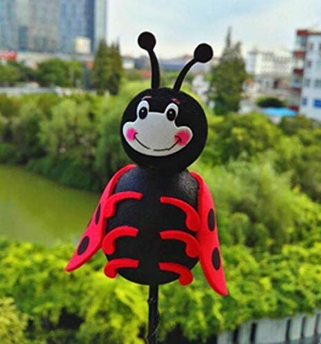 Ladybug Aerial Topper Antenna Ball Truck SUV Pen Decoration Portable and Useful Fliyeong Car Antenna Topper Ball