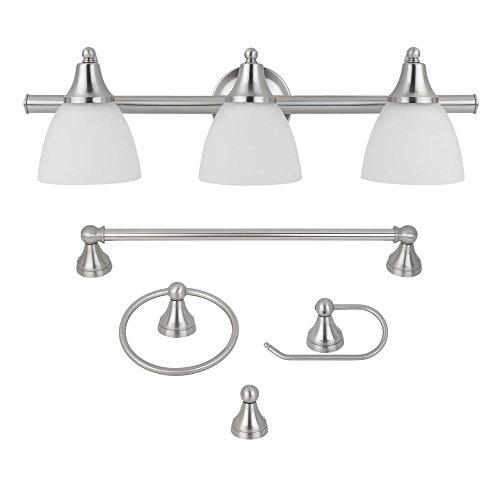 Bathroom Lighting Fixtures: Amazon.com