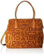 Desigual Bag Brand Holbox, Bandolera para Mujer, Braun (Marron), 30.5x17x37 centimeters (B x H x T)