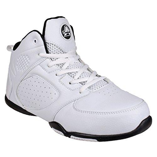 Amblers - Zapatillas de trabajo/Seguridad laboral modelo 704 Marble para hombre Blanco