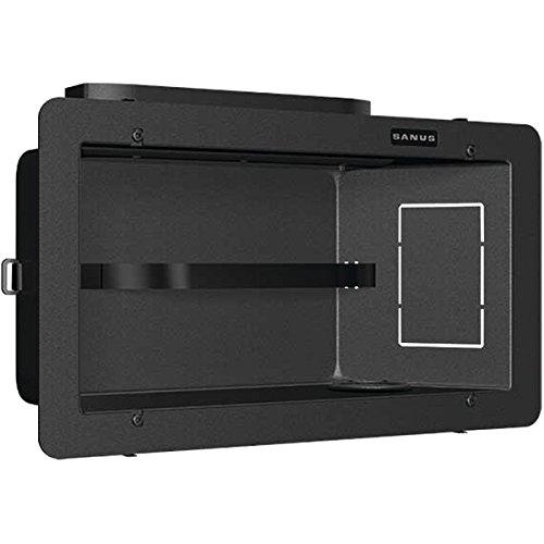 Medium In Wall Box - Sanus SA808-B1 Medium In-Wall Box Power Distribution Units Black