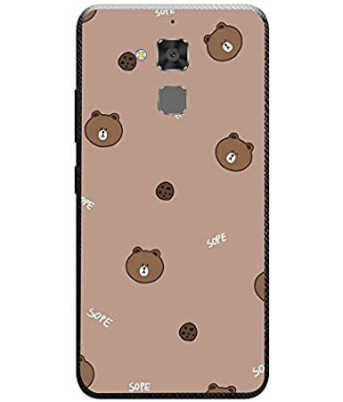 Amazon.com: Silicone Case Bear and Coockies ASUS Zenfone 3 ...