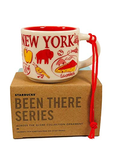 - Starbucks New York Been There Collection Ceramic Coffee Demitasse Ornament 2 Oz