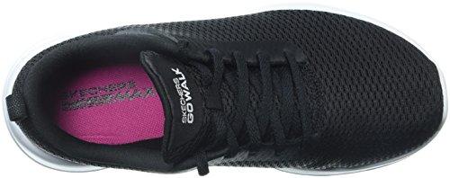 15601 Women's Skechers Walk Go Black White Joy Shoe Wide xwTOTdIFq