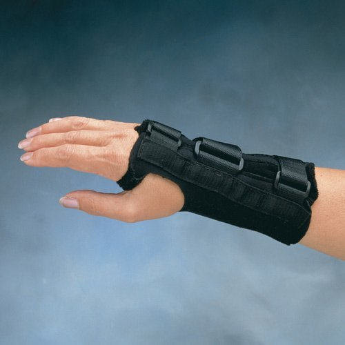 - Comfort Cool Wrist Splint D-Ring - Right Large - 7.75