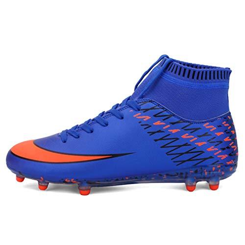 Hombres De Fútbol Zapatos Remache Entrenador Zapatos Antideslizante  Zapatillas Naturales Pastizales 731d07be8d4e2