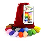 16 Crayon Rocks Sachet Velours Rouge