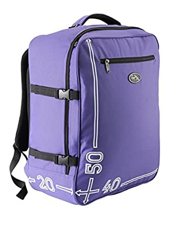 Cabin Max Barcelona 50 x 40 x 20 cm hand luggage backpack (purple)