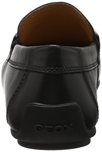 Geox U Giona B, Mocasines para Hombre Negro (Blackc9999)