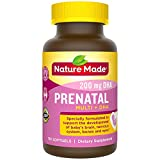 Product review for Nature Made Prenatal + DHA Softgel, 110 count