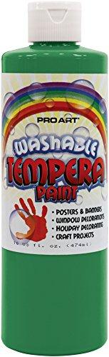 Liquid Washable Tempera Paint 16 Ounce