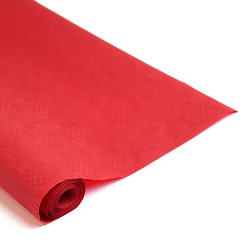 Banquet Rolls (Red 25METERS) Partyrama 32288DSP-BRL25-B