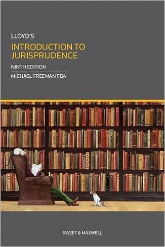 Lloyds Introduction to Jurisprudence