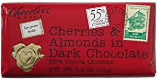 product image for Chocolove Dark Chocolate Cherry & Almond Mini Bar (12x1. 3 Oz)