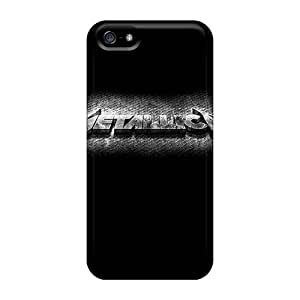 High Impact Dirt/shock Proof Cases Covers For Iphone 5/5s (metallica)