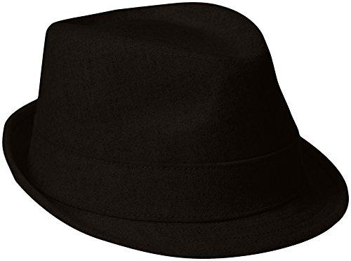 New Era Fedora (New Era Cap Men's Ek Wool-Blend Trilby Hat, Black, Medium)