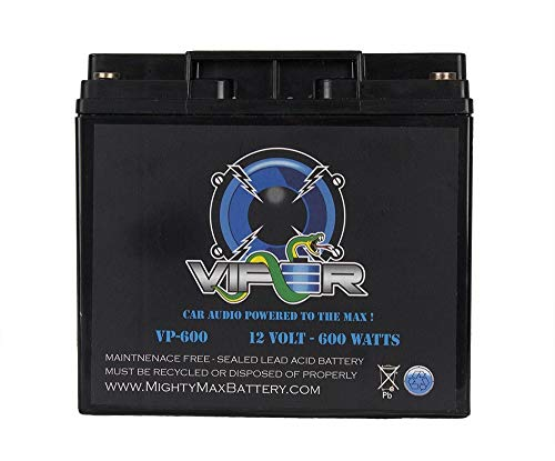 Mighty Max Battery Viper VP-600 600 Watt Car Audio Battery for Phoenix Gold 400.2 Brand Product (Best Car Stereo Battery)