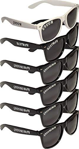 Bachelor Party/Wedding Polarized Sunglasses Six ()