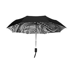yzgo cajas de conservas Creative exterior negro paraguas resistente al viento Reverse UV anti plegable sombrilla de viaje compacto
