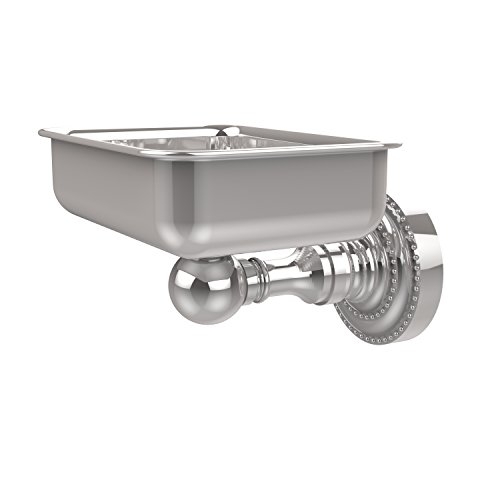 - Allied Brass DT-32-PC Dottingham Collection Wall Mounted Soap Dish, Polished Chrome