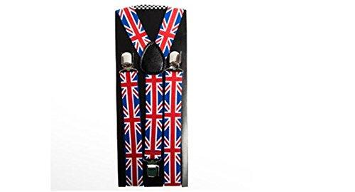 Union Jack Suspenders - Costume Union Jack
