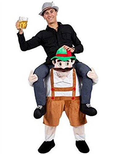 HBMaida Carry Me Baby Rider Adult Costumes for Party Festival Halloween Christmas (Suit 160CM to 190CM) - Oktoberfest Costumes Mens