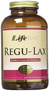 Lifetime Regu-lax Veg Mineral Supplements, 250 Count